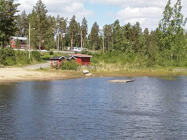 Även i sjön på Bötombergen är badvattenkvaliteten god, liksom vid övriga stränder där prov tas i Kristinestad.