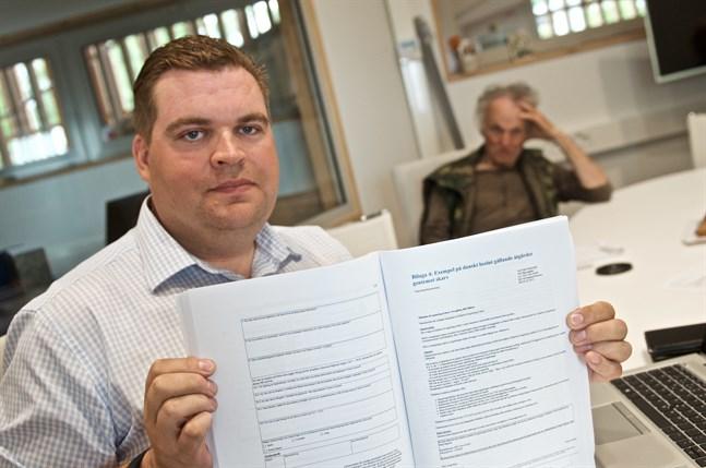 Markus Norrback leder arbetet med en ny handlingsplan för skarv i Österbotten och Mellersta Österbotten.