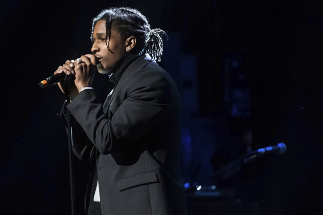 Hiphopstjärnan Asap Rocky döms för misshandel. Arkivbild.
