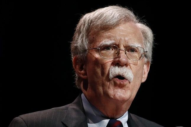 USA:s nationelle säkerhetsrådgivare John Bolton. Arkivbild
