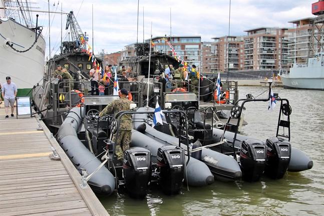 Arkivbild. Nylands brigad ordnar en stor repetitionsövning på Finska viken och i västra Nyland.