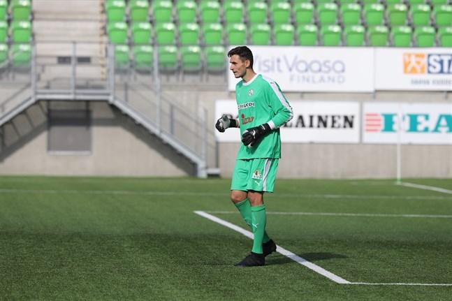 Valerii Voskonian vaktade VPS-målet i ligan för ett par säsonger sedan. Nu är han aktuell för Sporting Kristina.
