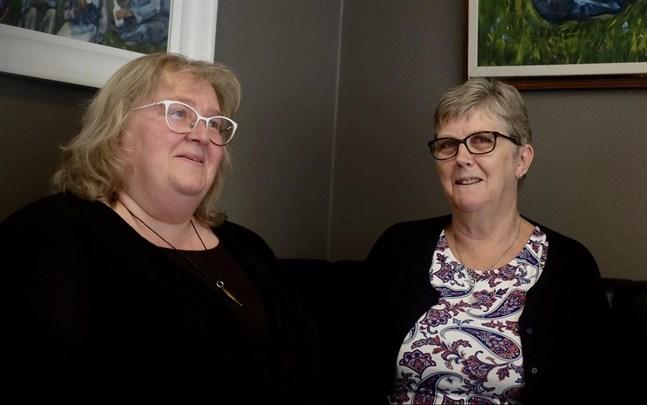 Susanne West var den fjortonde och Marita Ehnström är den femtonde i ledet av ordförande för Vasabygdens Marthadistrikt.