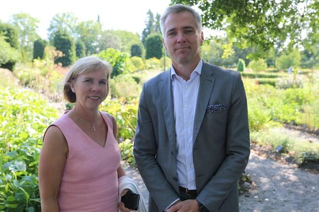 SFP:s ledarduo Anna-Maja Henriksson och Anders Adlercreutz vill värna om rättsstaten och yrkar på utökade budgetmedel för åklagar- och domstolsväsendet.