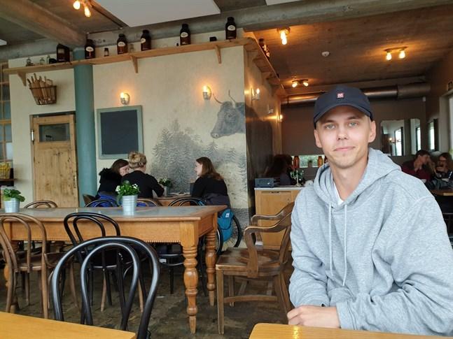 Tony Lagerström har nordjobbat på Island i sommar.
