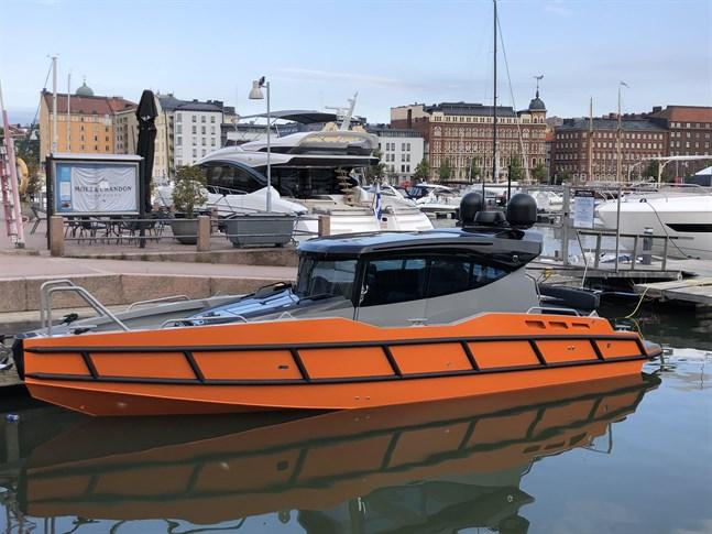 Nya Force 10 presenterades inofficiellt i Helsingfors i fredags.