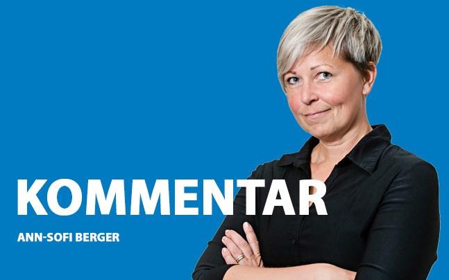 Ann-Sofi Berger, kommentar