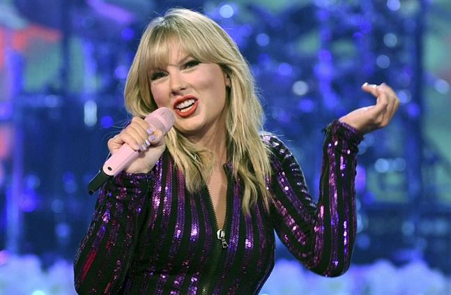 Taylor Swift är tillbaka med ett sjunde album. Arkivbild.