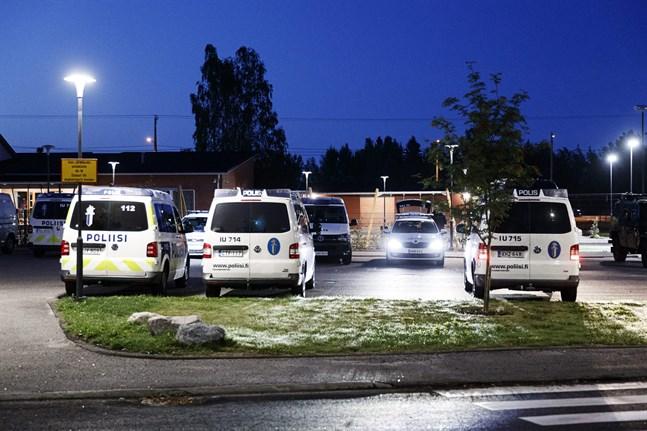 Händelsen inträffade i närheten av ett daghem i Borgå.
