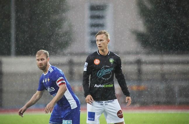 Kevin Larsson var pigg i JBK och gjorde dessutom matchens enda mål. Markus Nordman och hans VIFk stod upp bra men var inte tillräckligt vassa offensivt.