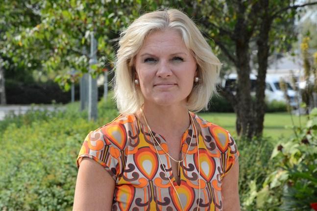 Maarit Söderlund, bildningsdirektör i Kristinestad.