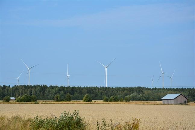 Vindkraftsområdena är med i landskapsplanen 2040.