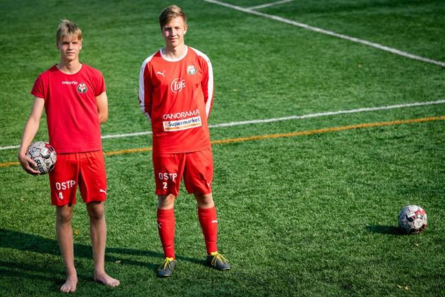Bröderna Simon och Samuel Uusitalo spelar både i olika pojklandslag, men har tillbringat denna säsong i GIF Sundsvall.