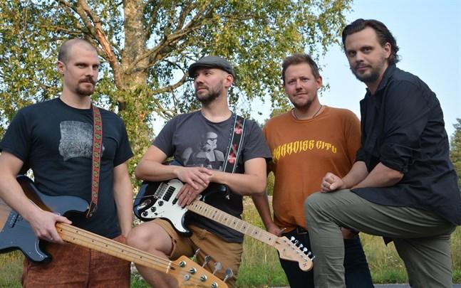 Kurator är (från vänster) Peter Enroth, Benny Ojala, Andreas Stenfors och Stefan Nyman