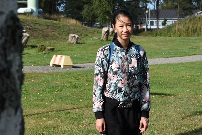 Alicia Duong blev utsedd till Årets ungdom i Närpes på fredag kväll.