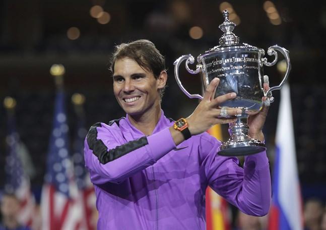 Rafael Nadal tog sin 19:e grand slam-titel.