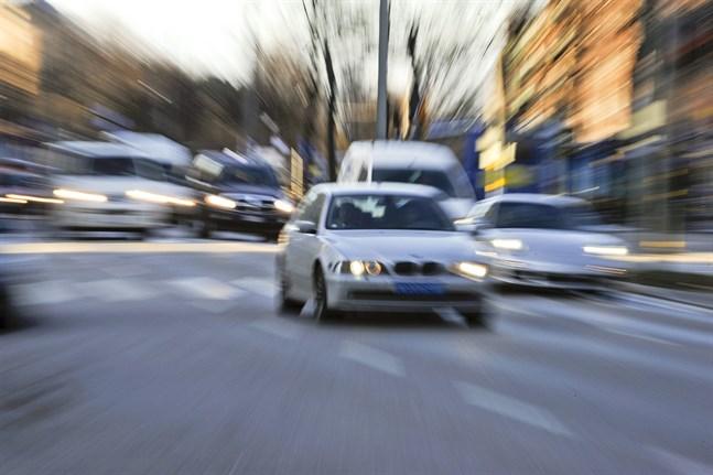 En brittisk bilist har lagt ned 30000 pund för att få rätt gällande en fortkörningsbot. Arkivbild.