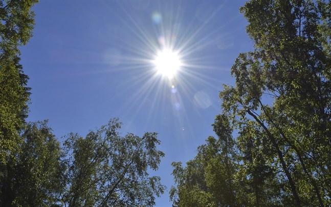Sol blir till regn och rusk om man ska tro väderprognosen.