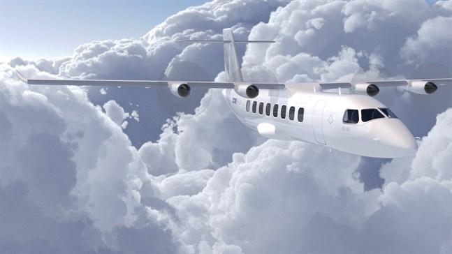 Svensk-amerikanska Heart siktar på ett fungerande helektriskt flygplan för 19 passagerare till år 2025. Räckvidden blir 400 kilometer.