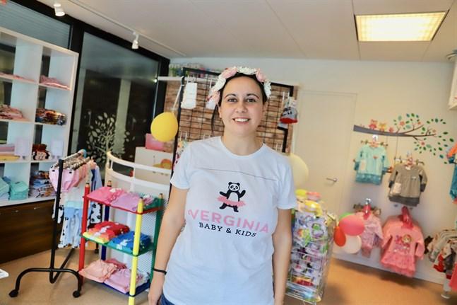 Verginiya Bosilkova uppfyller en dröm och blir egenföretagare.