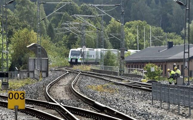 Allt fler tar tåget.