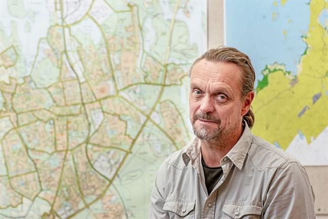Med åren har Sören Öhberg insett att det är just stadsplanering som är hans grej.