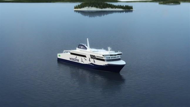 Det blir Wärtsiläs system som ser till att nya Wasaline navigeras tryggt i Vasa skärgård.