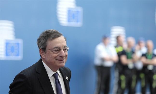 ECB-chefen Mario Draghi. Arkivbild.