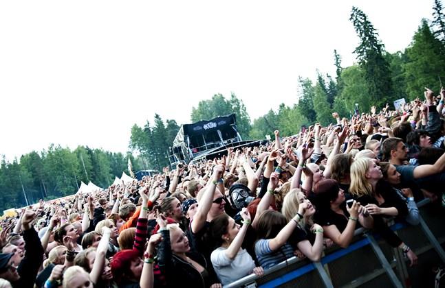 Så här såg det ut senast System of a Down besökte Seinäjoki.