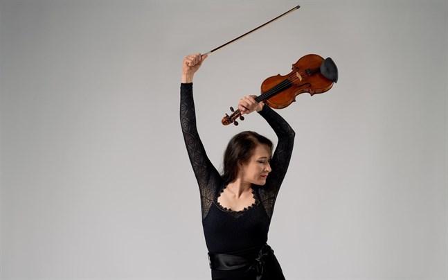 Liisa Makkonen är stämledare för II violin i Vasa stadsorkester.