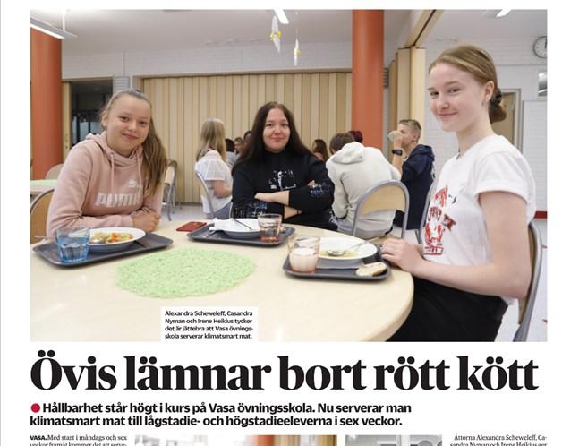 Det är mycket glädjande och berömvärt att Övningsskolan vill befrämja de förändringar som behövs, skriver Göran Ekström i en insändare.