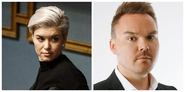 Susanna Koski och Tommi Mäki har båda siktet inställt på att leda Samlingspartiet i Österbotten.