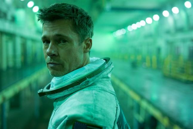 """Brad Pitt i den oscarsnominerade filmen """"Ad Astra""""."""