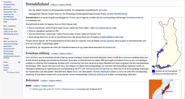 Svenska kulturfonden, Konstsamfundet och Svenska folkskolans vänner vill även uppmuntra finlandssvenska föreningar, organisationer och eldsjälar att bidra till innehållet om Svenskfinland på Wikipedia.