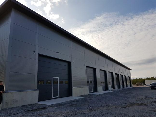 I september var SWS Concepts lagerhall på Munsalavägen i Nykarleby klar.