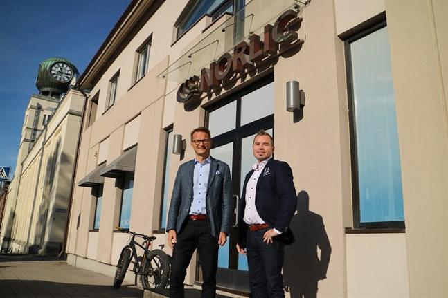 Cedric Frostdahl och Jari Rättyä hävdar att det finns en efterfrågan på nya lösningar.