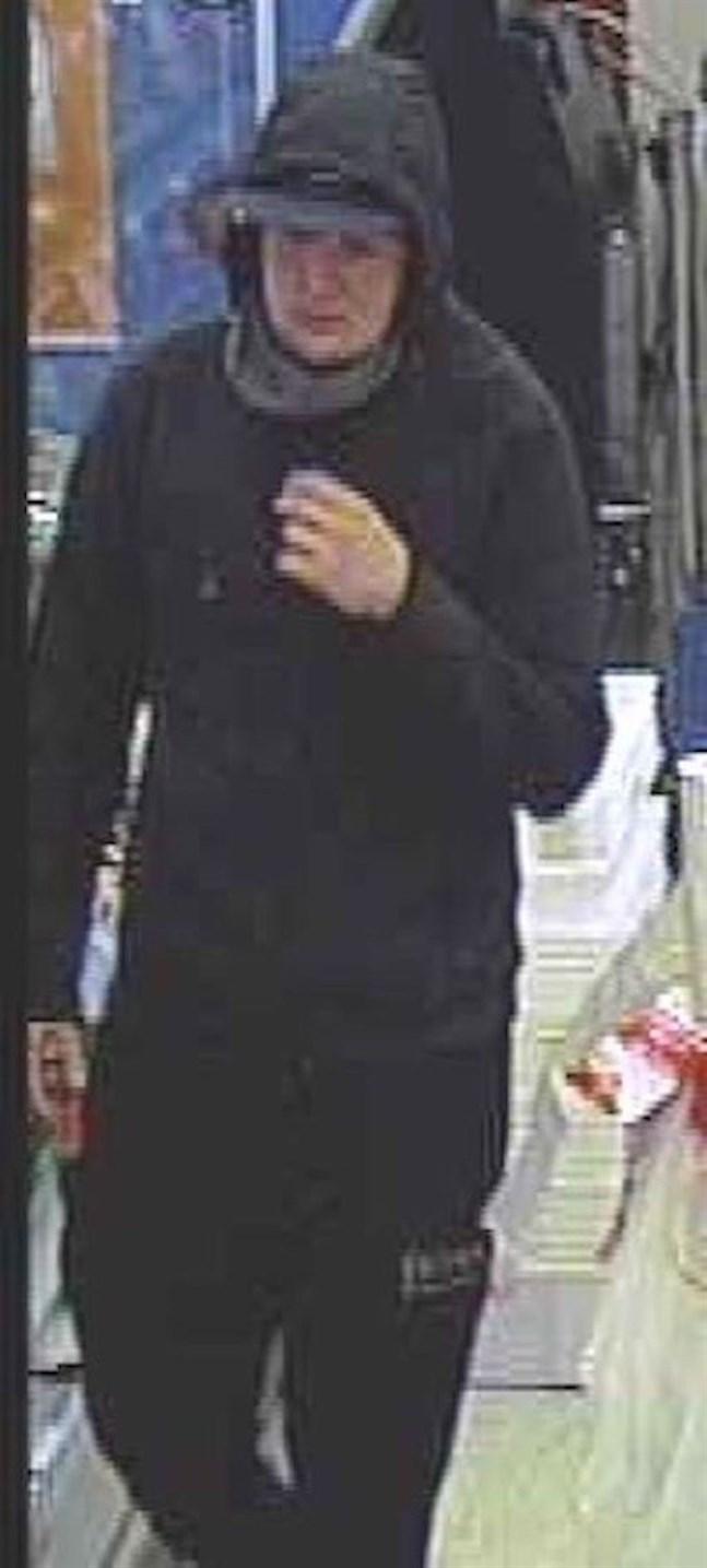 Bild från rånet den 30 augusti.