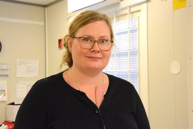 Grundtrygghetsdirektören Tiia Krooks söker till en tjänst i Kauhajoki.