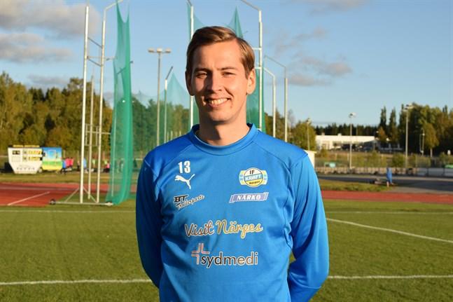Kim Böling valdes till Krafts bästa spelare.