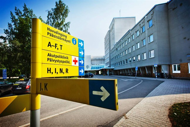 Sjukhuset beklagar att renoveringen kan medföra bullerstörningar.