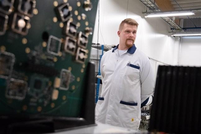 Enligt fabrikschef Markku Kalliosaari uppskattar kunderna kvalitet.