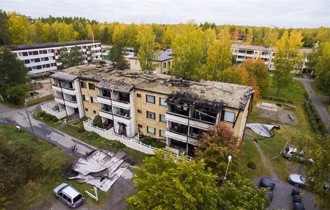 Föreningen Volume ordnar en stödkonsert för två eldsjälar som förlorade sitt hem i branden i Gamla Vasa i början av oktober.