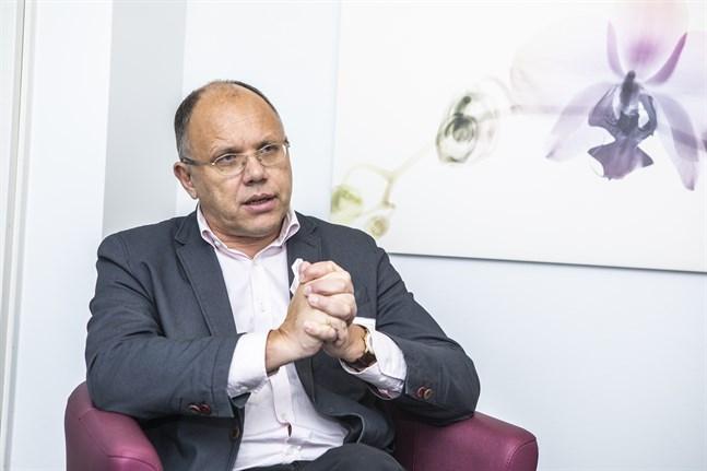 Markku Suoranta, verksamhetsledare för Österbottens cancerförening, hoppas insamlingen ska få fart under våren.