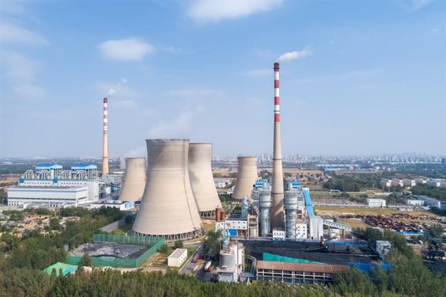 Leo Byskata skriver att Parisavtalet som blev en lottovinst för Kina i fråga om utsläppen. Bilden är tagen i Liaocheng i den kinesiska Shandong-provinsen.