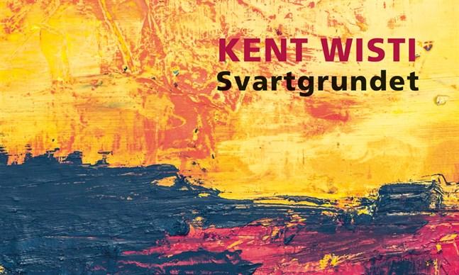 """Utsnitt av omslaget till Kent Wistis bok """"Svartgrundet""""."""