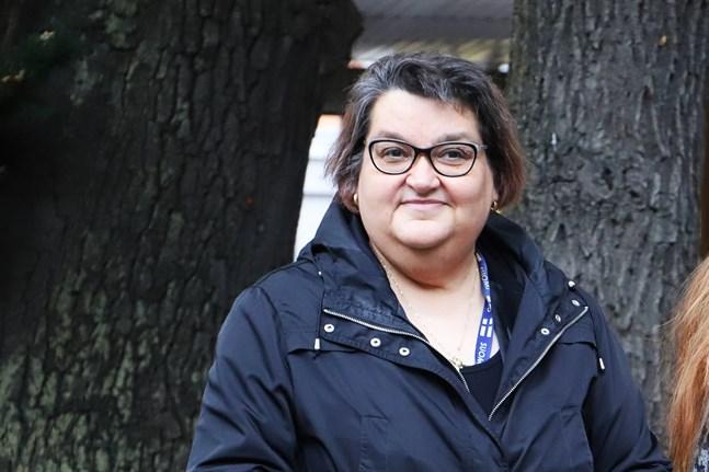 Marja-Leena vill hjälpa andra att komma vidare i sin sorgeprocess.