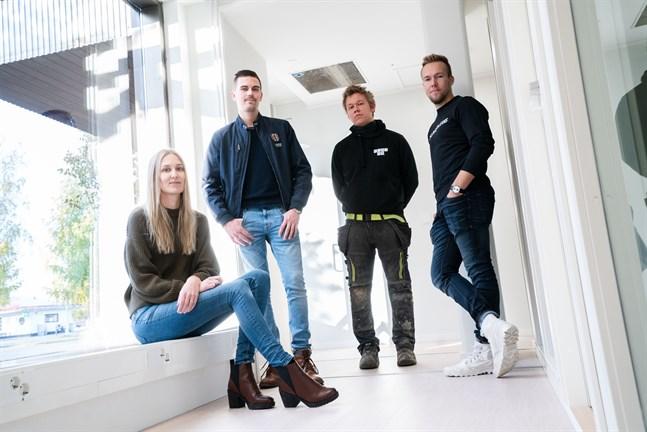 Catharina Bertula, August Strandberg, Tobias Wik och Christoffer Sirén, eller deras fastighetsbolag NY Capital Ab, kommer att bygga ut sitt företags- och kontorshotell med nya kontorsrum i gröna husets hörnlokal.