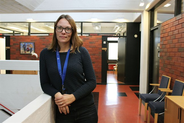 Camilla Enell-Öst är avfallshanteringschef i Vasaregionens avfallsnämnd.