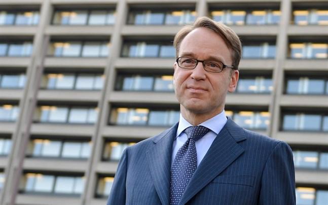 Jens Weidmann är chef för Bundesbank. Den tyska centralbanken ser en risk att landet är i recession.