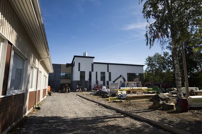 Niorna vid Mustasaaren keskuskoulu övergår till distansundervisning nästa vecka.